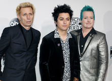 Mike Dirnt, Billie Joe Armstrong, Tre Cool Stock Image