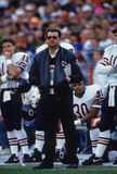 Mike Ditka. Former Chicago Bears head coach Mike Ditka. Image taken from color slide Stock Images