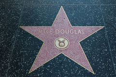 Mike Douglas Hollywood Star Stock Photography