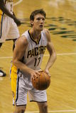 Mike Dunleavy Indiana Pacers Free Throw Attempt Royalty Free Stock Photos