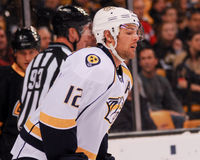 Mike Fisher, Nashville Predators Royalty Free Stock Images