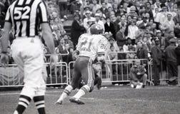 Mike Garrett #21, Kansas City Chiefs de running back Images libres de droits