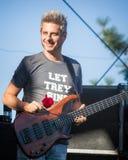 Mike Gordon From das Band Phish Lizenzfreies Stockfoto