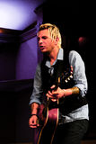 Mike Gossin Guitarist for Gloriana Royalty Free Stock Photo