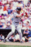 Mike Greenwell Boston Red Sox. Former Boston Red Sox outfielder Mike Greenwell.  (Image taken from color slide Royalty Free Stock Photo
