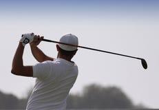 Mike Lorenzo Vera på den Pleneuf Val Andre golfutmaningen 2013 Arkivbilder