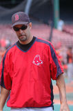 Mike Lowell Boston Red Sox Royalty Free Stock Photo