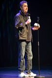 Mike MacDonald. Comedian Mike MacDonald gives speech after being presented the Phil Hartman award at the Canadian Comedy Awards October 6, 2013 in his hometown Stock Photography