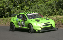 Mike Manning in the Ford Puma Racing Royalty Free Stock Images