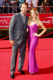 Mike Modano and Willa Ford Stock Photos