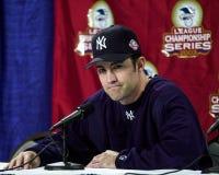 Mike Mussina, διευθυντής των New York Yankees Στοκ Φωτογραφίες