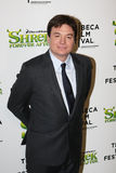 Mike Myers. NEW YORK - APRIL 21: Actor/comedian Mike Myers attends the premiere of Shrek Forever After at the Ziegfeld Theatre on April 21, 2010 in New York City Royalty Free Stock Images
