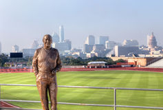Mike A. Myers Statue Royalty Free Stock Photos
