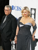 Mike Nichols and Diane Sawyer Stock Images