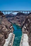 Mike O'Callaghan–Pat Tillman Memorial Bridge Royalty Free Stock Photography