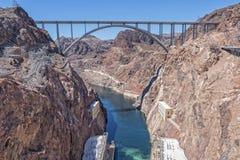 The Mike O`Callaghan - Pat Tillman Memorial Bridge Stock Photography