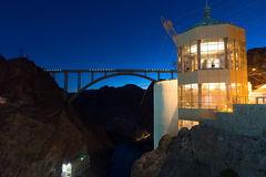 Mike O'Callaghan–Pat Tillman Memorial Bridge Hoover Dam Nevada Royalty Free Stock Image