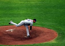 Mike pelfrey of new york mets Stock Images