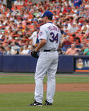 Mike Pelfrey, New York Mets. Royalty Free Stock Photos