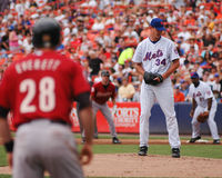 Mike Pelfrey, New York Mets. Stock Photo
