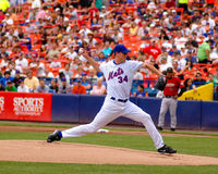 Mike Pelfrey Nueva York Mets Foto de archivo