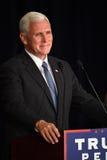 Mike Pence Rally för trumf Arkivbild
