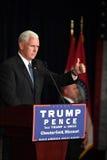 Mike Pence Rally för trumf Arkivfoton