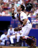 Mike Piazza New York Mets catcher Royalty Free Stock Photo