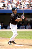 Mike Piazza. New York Mets catcher Mike Piazza.   Image taken from color slide Stock Photography