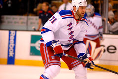 Mike Rupp New York Rangers Royalty Free Stock Images