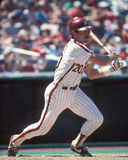 Mike Schmidt. Philadelphia Phillies 3B Mike Schmidt #20. (Image taken from color slide Royalty Free Stock Photos