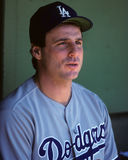 Mike Scioscia. Los Angeles Dodgers catcher Mike Scioscia. (Image taken from color slide royalty free stock photography