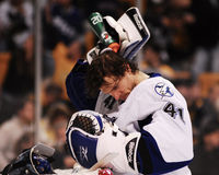 Mike Smith Tampa Bay Lightning #41. Stock Photos