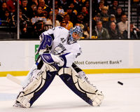 Mike Smith Tampa Bay Lightning goalie. Royalty Free Stock Photography