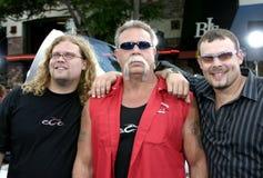 Mike Teutul, Paul Teutul Jr., and Paul Teutul Sr. Royalty Free Stock Photo