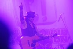 MIKE TRAMP WHITE LION CONCERT Royalty Free Stock Photos
