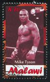 Mike Tyson stock photography