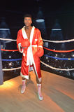 Mike Tyson wax statue Stock Images