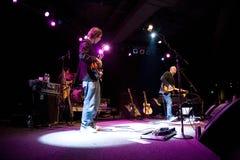 Mike valiente en concierto Fotos de archivo libres de regalías