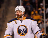 Mike Weber Buffalo Sabres Royalty Free Stock Photography