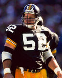 Mike Webster, Pittsburgh Steelers Photographie stock libre de droits