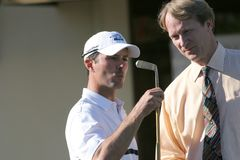 Mike Wier, Pebble Beach 2006 Royalty Free Stock Photos