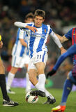 Mikel Aramburu of Real Sociedad Stock Images