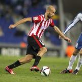 Mikel Rico del Athletic de Bilbao Imagenes de archivo