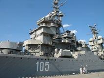 mikhail крейсера доски выйденное kutuzov стоковая фотография rf