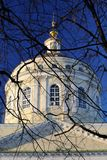 Mikhail Arkhangel orthodox chirch in Orel, Russia Royalty Free Stock Photos