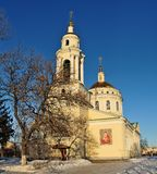 Mikhail Arkhangel orthodox chirch in Orel, Russia Royalty Free Stock Images