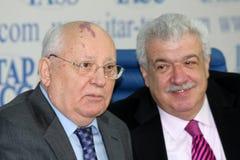 Mikhail Gorbachev. Fotos de Stock Royalty Free