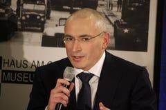 Mikhail Khodorkovsky (Michail Chodorkowski) Stock Images