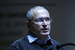 Mikhail Khodorkovsky Stock Image